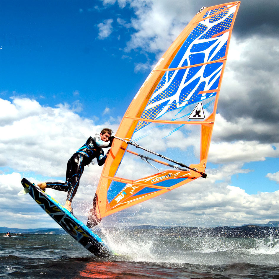 The PURE from Gaastra is one of the easiest freestyle sails to ride.