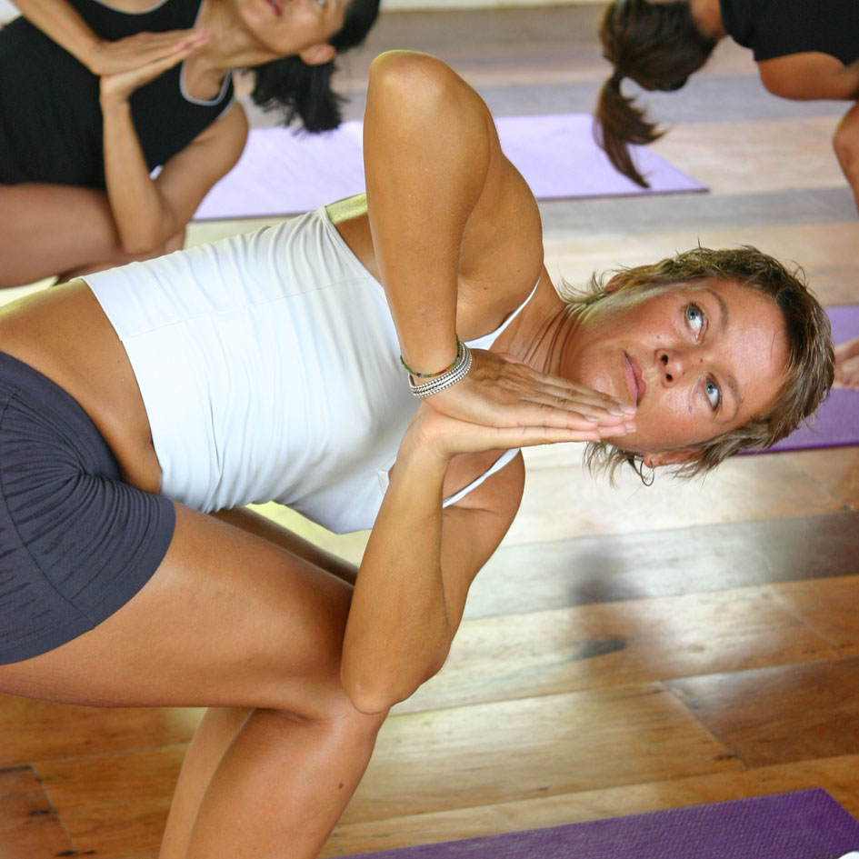Daily Hatha- and Ashtanga Yoga classes at Boracay Yoga.