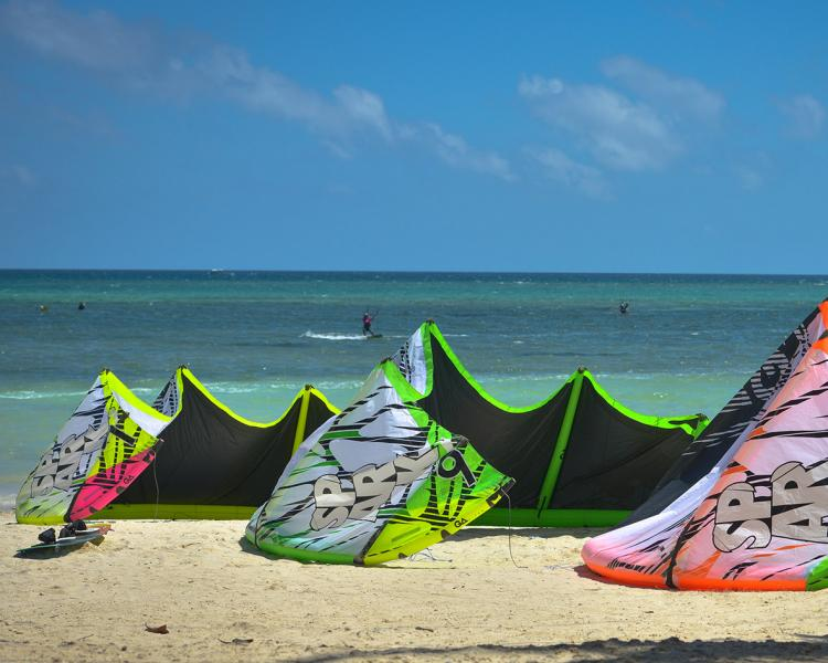 The range of the SPARK at Funboard Center Boracay spans 3, 5, 7, 8, 9, 10, 11, 12 and 14 for next season.