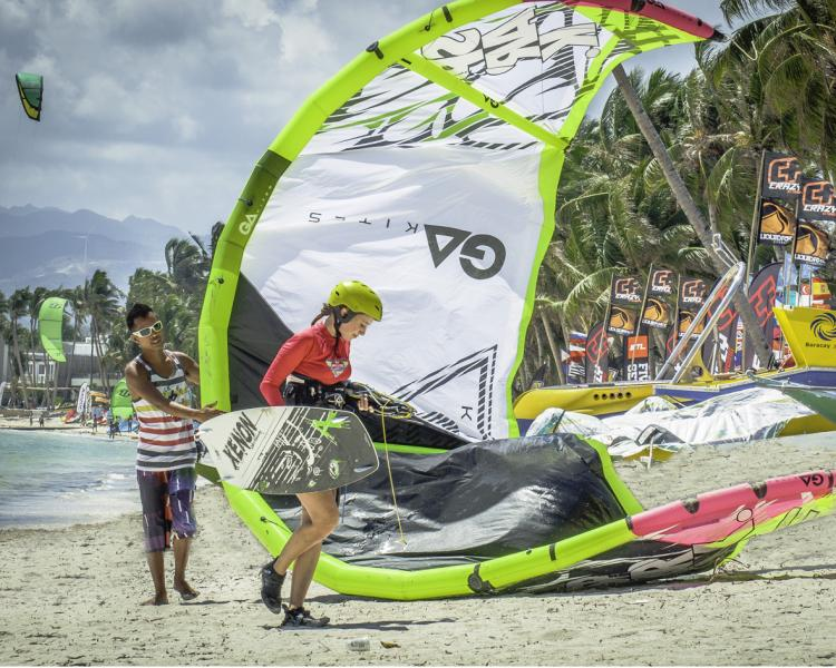 Daily-IKO-Kitesurfing-classes-at-Funboard-Center-Boracay.