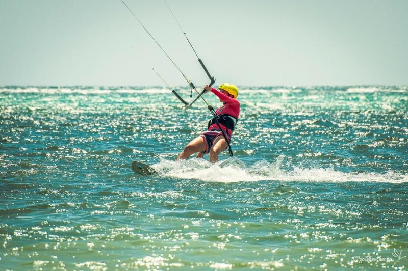 Kitesurfing courses for beginner and advamced riders at Funboard Center Boracay.