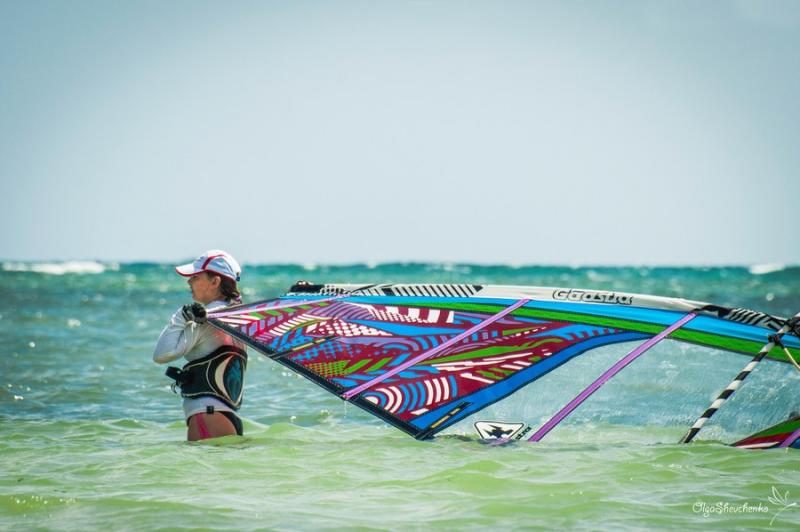 The YOGA-CAMP++ includes windsurfing lessons, daily yoga classes, SUP and Island hoping.