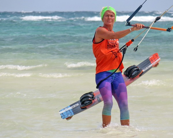 The Gaastra Spark 9 brought Simone on 3rd place in hangtime at the PKA.