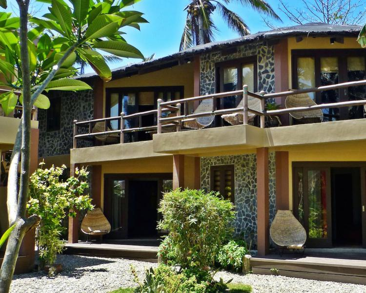 Best accommodation at Bulabog Beach Reef Retreat just next to Funboard Center Boracay.
