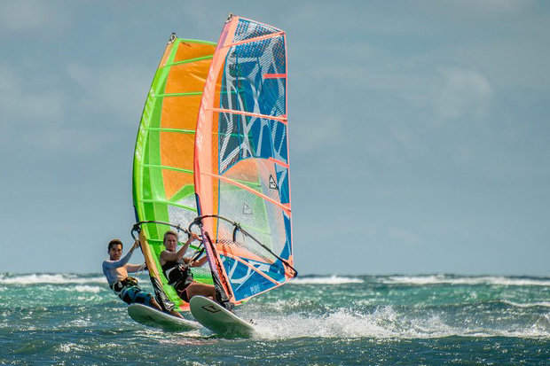 Tabou Boards and Gaastra sails available at Funbaord Center Boracay