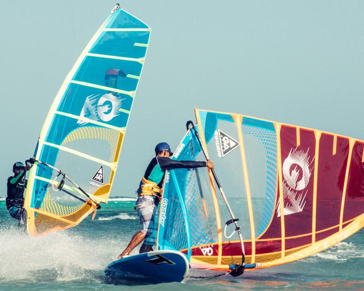 Funboard Center Boracay provides the latest windsurf equipment for rental and teaching.
