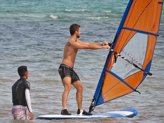 Windsurfing classes for every level with your private instructor.