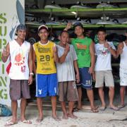 The team from Funboard Center Boracay did a great job and is quite confident.