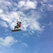 Kiteboarding on Boracay - Palong