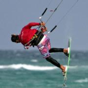 Kiteboarding on Boracay - Taner