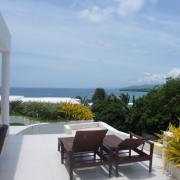 Perfect view from Cohiba Villas over Bulabog Beach.