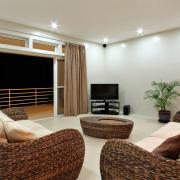 Spacious apartments in Cohiba Villas at Bulabog Beach on Boracay Island.