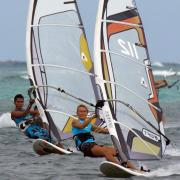 Daily-Windsurf-training- to-get-ready- for-the Boracay-International_Funboard-Cup