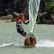 Successful-jibe-for-the-windsurfer-from-funboardcenter-boracay